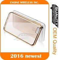 shell mobile phone tpu case transparent cover flip for iphone 6 case cover