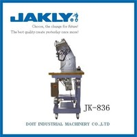 JK-836 high-grade casual shoes Vamp and sole stitch shoe making machine