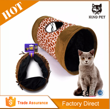 Indoor High Quality Easy Carry Personalized Foldable Cat Tunnel