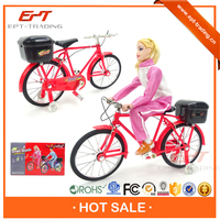 Hot sale kids electronic mini bicycle toy with light