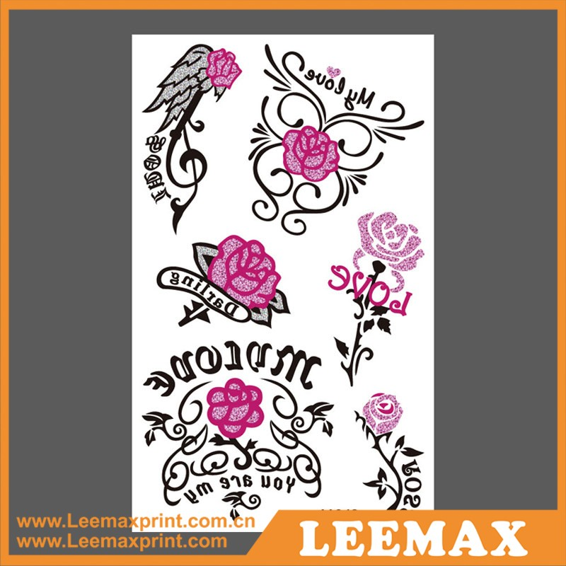 lm1067 temporary tattoo sticker 280 special design tattoo stickerairbrush tattoo kitcustom. Black Bedroom Furniture Sets. Home Design Ideas