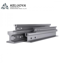 HOT SELLING light rail mining rail railway 9kg/m steel rail