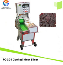 Thickness Adjustable Cooked Meat Slicer, Goose Liver Cutter Beef Cutting Machine