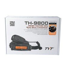 800 CH mobile radio transceiver TYT TH-9800 waterproof dual band mobile ham radio