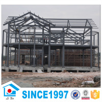 prefabricated light steel frame luxury villa design