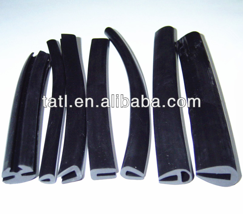 Rubber Edging for Sheet Metal