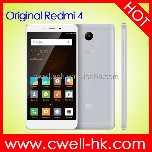 Original Xiaomi Redmi 4 Pro red rice 4 32GB ROM Snapdragon 625 Mobile Phone 4100mAh Battery