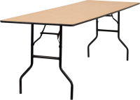 wholesale banquet plywood folding table