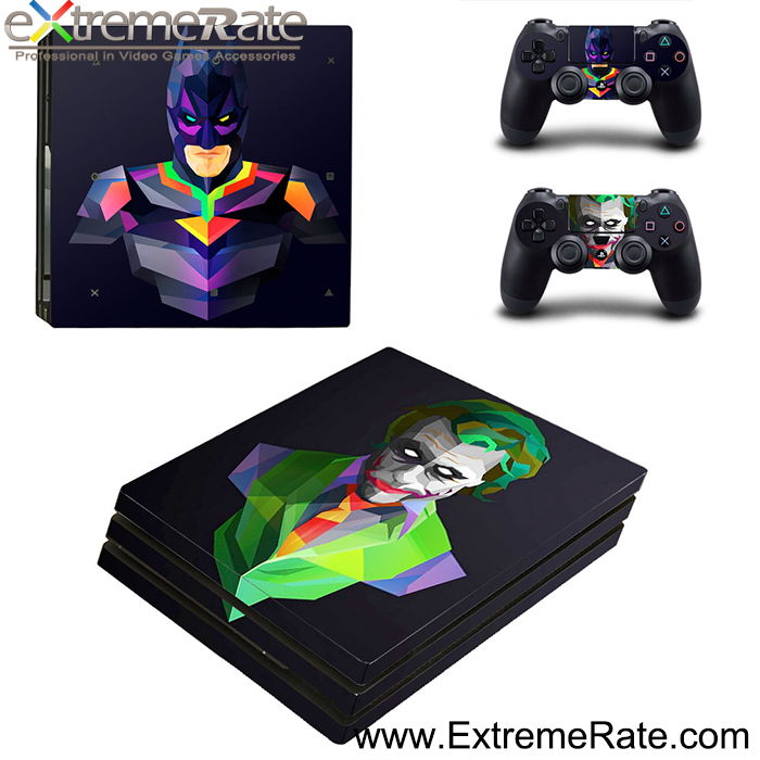 Vinyl Decal Console Skin Sticker Controller for PS4 Pro Game Accessories