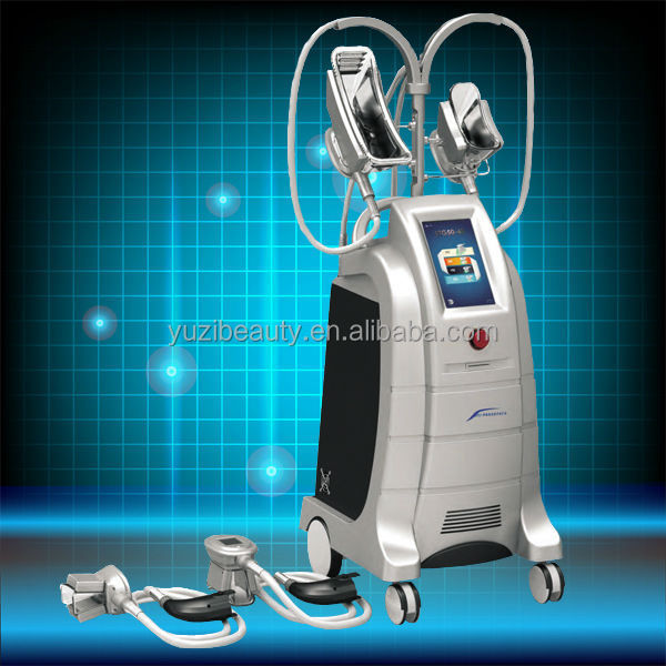 2 Freeze Heads/handles cryo fat cryolipo Equipment NewestCryotherapy Slimming Machine(can Adding Warm System)