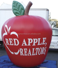 Advertising Giant Inflatable Apple Model for Sale