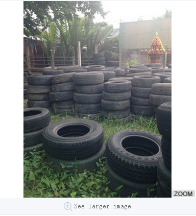"Used tires for light truck good Quality 14""-17"""