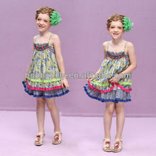 kids frocks designs national style summer dress for girls
