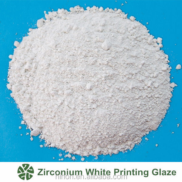 Zirconium White Opaque Printing Glaze Powder From China Supplier JT-A304