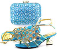 AB7185#3 2016beautiful new design matching shoes and bags