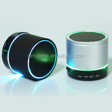 S08U Wireless Blue tooth Speaker with LED usb port TFcard FM radio and earphone output