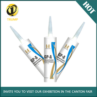 High Grade Acetic white and grey color Silicone Sealant with competitive price