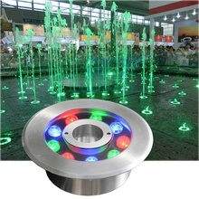 High power ip68 led ring underwater fountain <strong>rgb</strong> led lighting with CE Rohs certifications