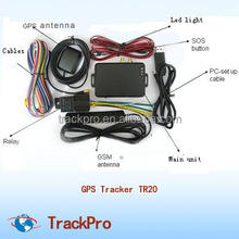 boat, truck,van fleet management Automotive Use GPS Vehicle Tracker tracking device
