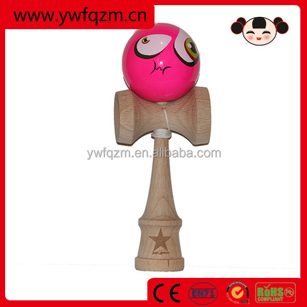 kids toys cup and ball game kendama for wholesale