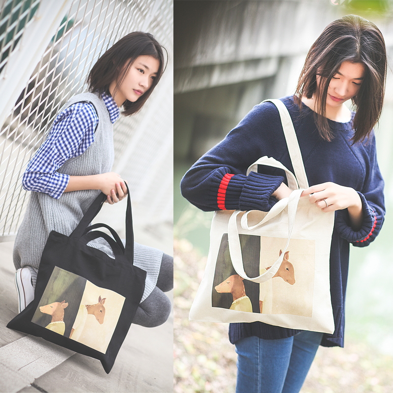 Wholesale Cheap Price Custom Printing Canvas Tote Bag