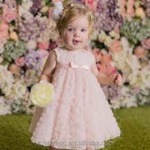 Hot Peti Baby Girl Soft Textile Baby 1 Year Old Party Wear Dress Children Frocks