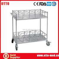 Water bottle trolley metal trolley