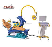 MAXSON Dental unit MX-A27N kids Children dental Chair Double armrest and Completely seamtess cushion & backrest