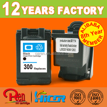 hot selling product in europe for hp 300 cc643e high yeild ink volume remanufactured ink cartridge