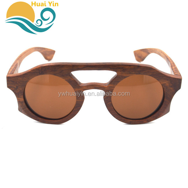 Wholesale good price Cost effective durable polarized cheap bamboo wooden sunglasses
