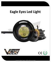 Auto accessory best sellers 12V 1W COB chips eagle eyes with CE certificate h6w led
