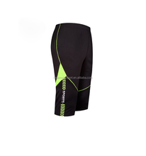 Soccer Training Black Three-Quarter Pants