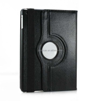 Wholesale Price High Quality PU Leather 360 Degree Rotating for iPad 2 360 Degree Leather Case for iPad
