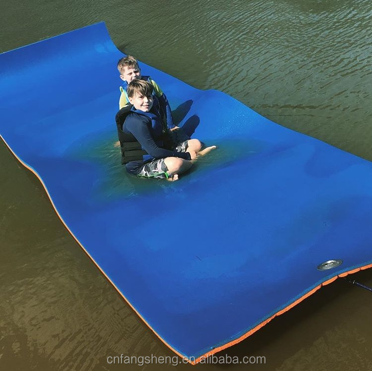 water floating mat/Soft foam swimming pool floating mats floating beach pads