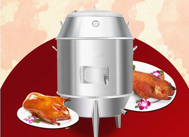 Commercial use electric rotary chicken grill