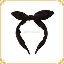 New Design Simple Bow Style Headband for Girls Rabbit Ears Headbands Hair Hoop Accessories headdress for Women Party Gift