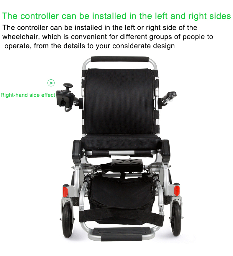 lightweight portable foldable automatic wheel chairs for disabled people