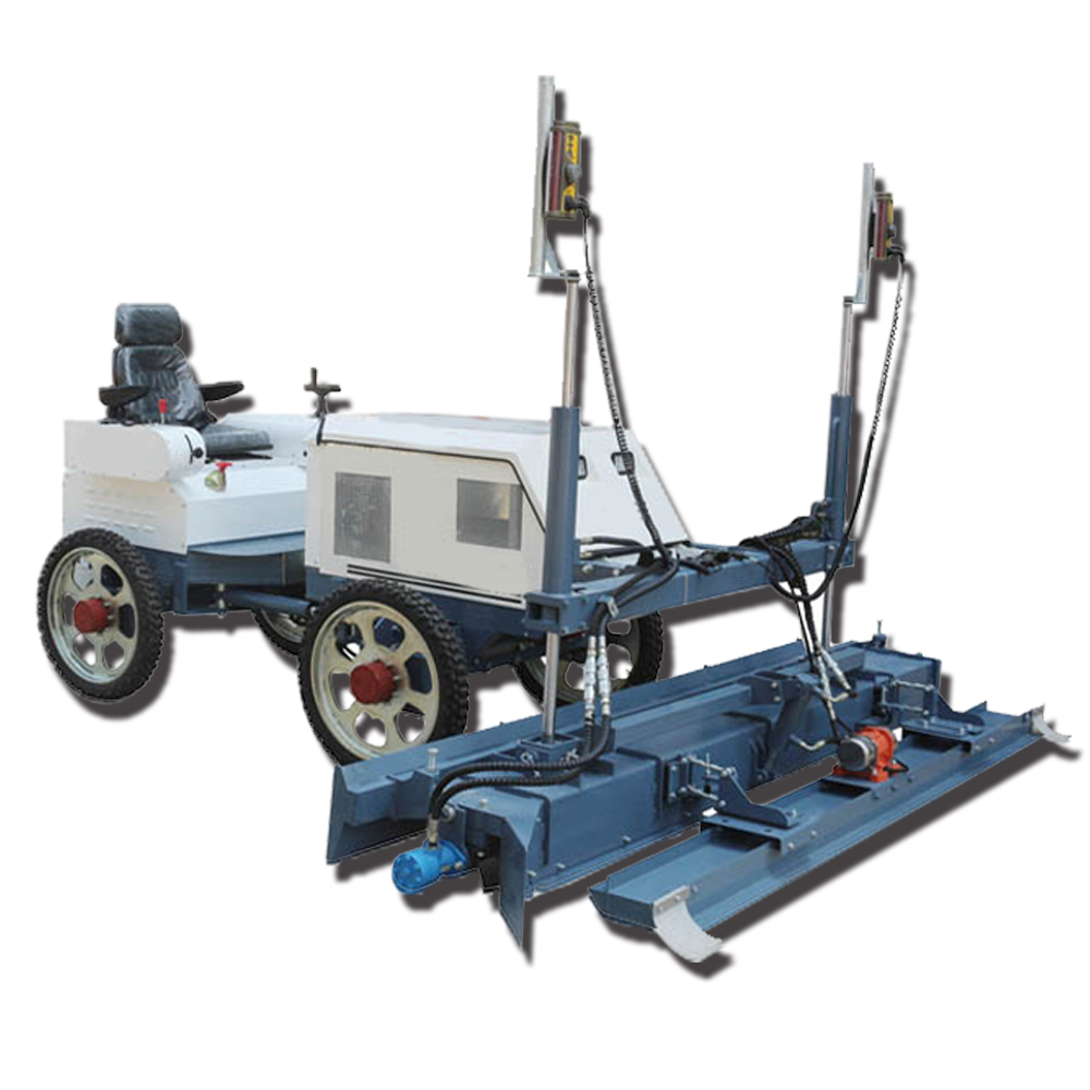 Concrete Hand Trowel YZ25-4 Road Construction Ride On Laser Screed Machine