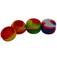 silicone customized bho oil container 7ml silicone container for wax/oil