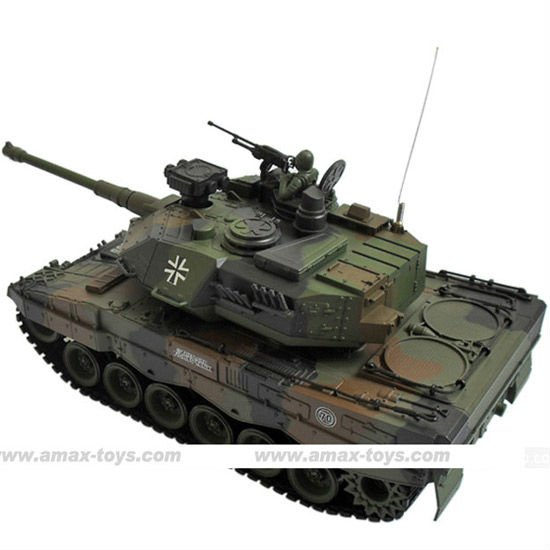 rb-5750111 1:20 RC camouflage green battle tank German Leopard.2