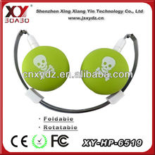 low cost and high quality mono mp3 music player mp3 mp4 skull earphones