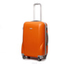 orange hardshell ABS+PC trolley case travel luggage