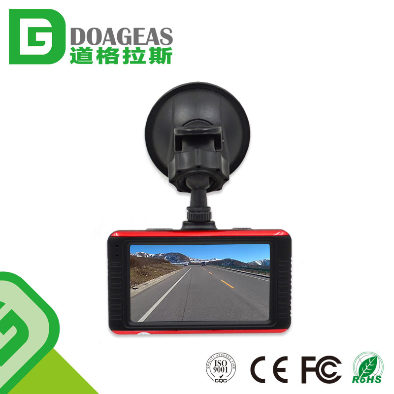 New Model 2017 Car DVR 3inch Dashcam Full HD 1080P Driving Recorder With Night Vision G-Sensor Vehicle Video Hidden Camera