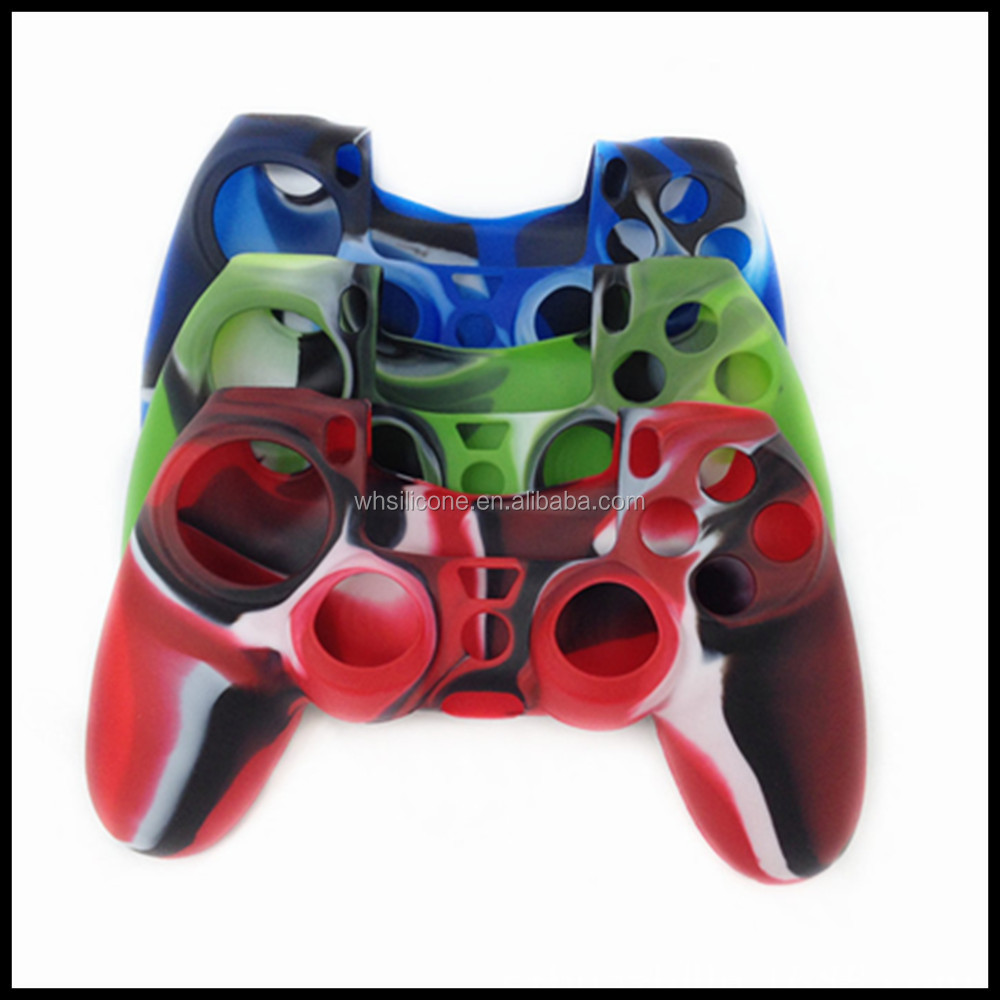 Hot selling custom logo waterproof silicone cover for ps4 controller
