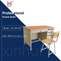 Designer Metal Executive Office Desk Modern Design