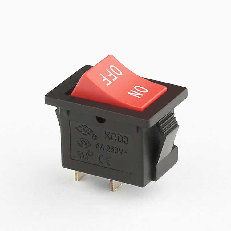KCD3 10A 250V t125 55 rocker switch