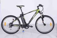 "26"" 250W Pedelec/ Foldablset E Bicycle Girls E-Bike With Basket"