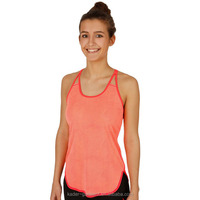 Wholesale Polyester Mesh Fabric Womens Dri Fit Tank Top, Womens Running Singlet, womens Training Clothing for Tennis