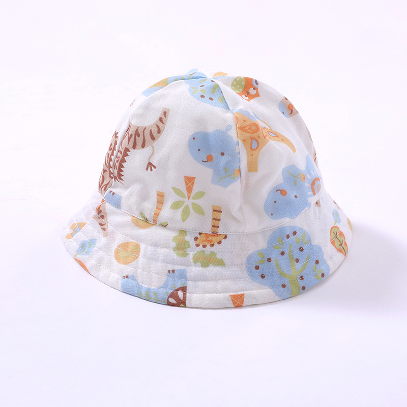 Wholesale New Style Cute Cartoon Organic Cotton Cap Baby Hat