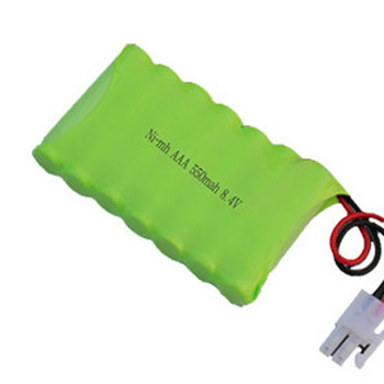 NiMh 550mAh 8.4v Rechargeable Battery